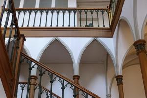 Treppenhaus Lesegesellschaft - Maleratelier Ramirez - Maler - Basel